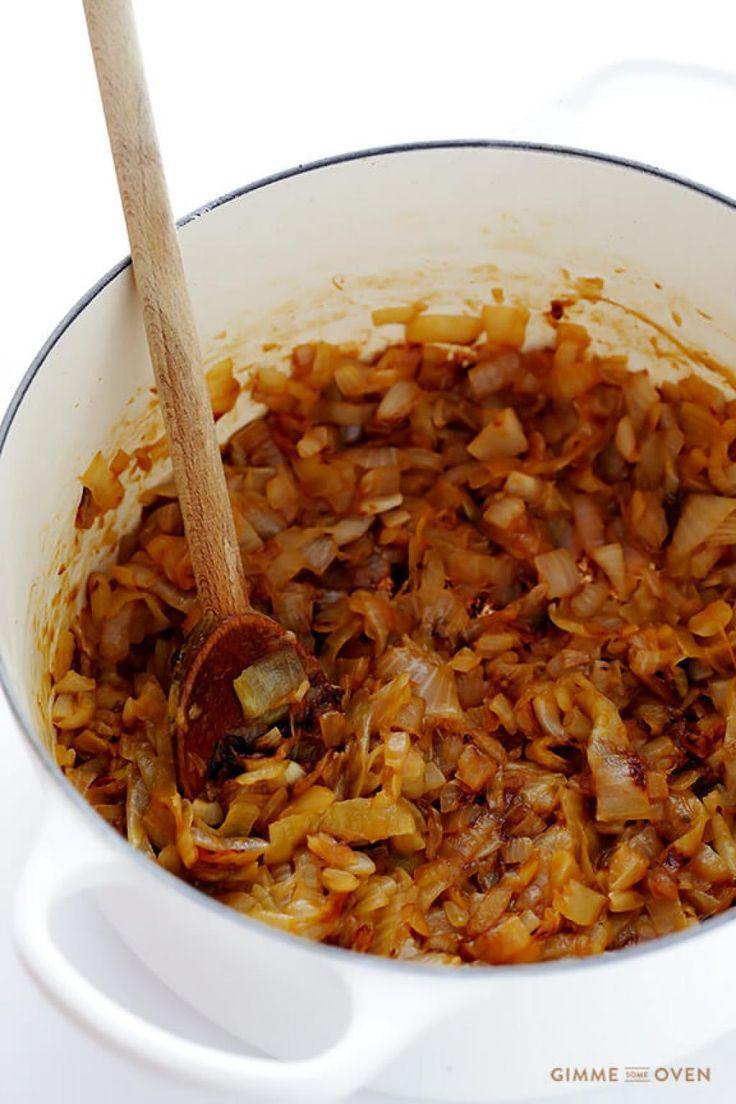 Soupe l 39 oignon gratin e divinement bonne recettes ma fourchette mes preferes en 2019 - Soupe a oignon maison ...