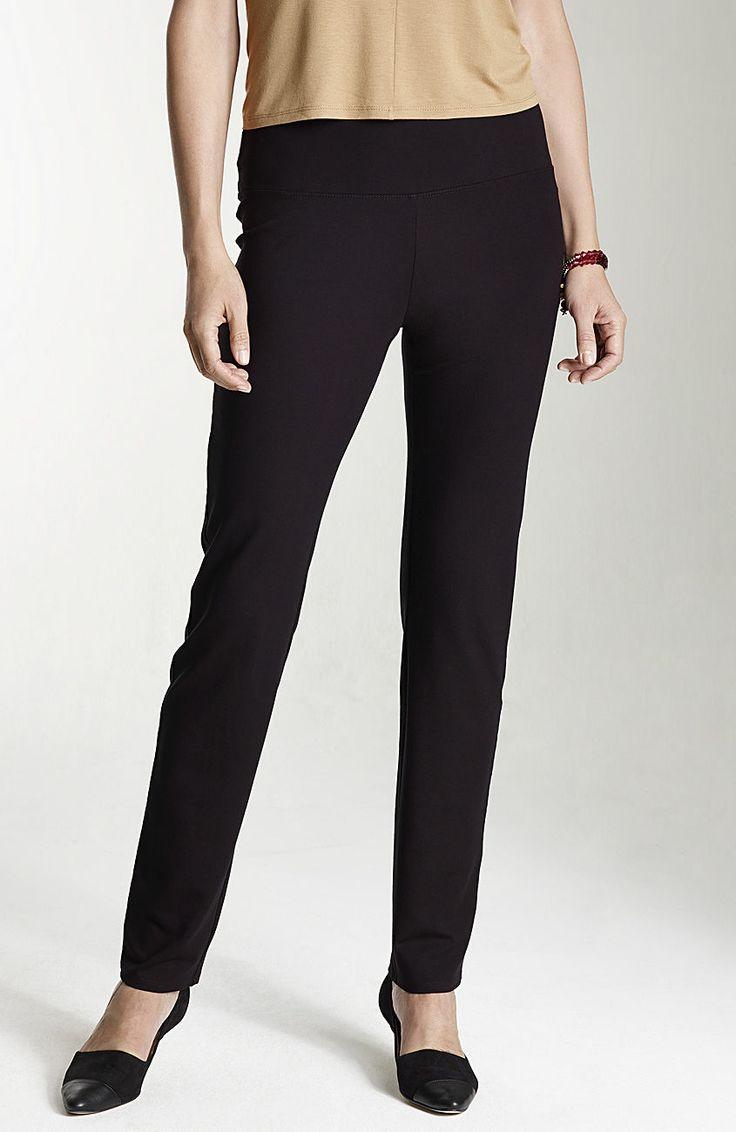 Wearever smooth-fit slim-leg pants at J.Jill Size Petite ...