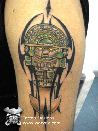 Tumi Tattoo » ₪ AZTEC TATTOOS ₪ Aztec Mayan Inca Tattoo Designs Instant Download