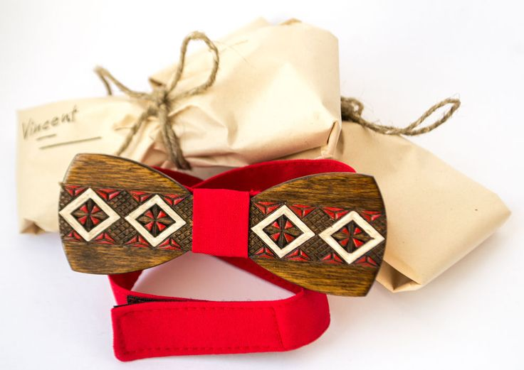 Wooden Bow Tie 100% Handmade With Prints Unisex Accesories (Likes Ralph Lauren) #Handmade #BowTie #New Year #Gifts
