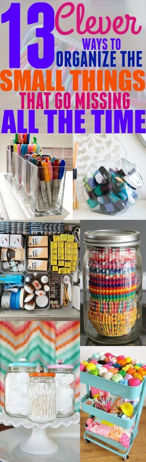 Don't you hate when you are constantly losing small objects like bobby pins, hair ties, and rubber bands? It seems like they always go missing whenever you need them. If you are tired of losing the small items in your home, then this post is for you. Below, I listed 13 ways to organize the small things in your home. From hair ties to phone chargers, I found organization hacks for all of the small objects that seem to disappear whenever you need them. Check out the list below, and let me...