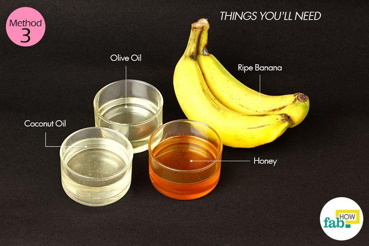 banana for dry hair