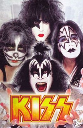 Kiss, the hard rock band from New York City, known for their amazing makeup and…