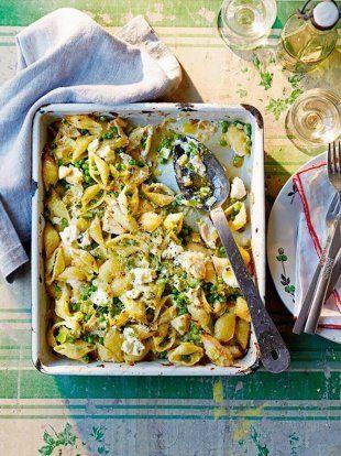 Chicken Leek + Pea Pasta Bake | Family Basics | Jamie Oliver