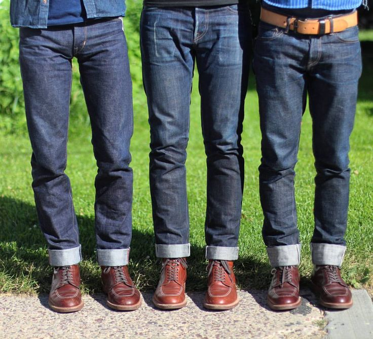You know, that time when all 3 of us wore Alden Indy boots. . @ryancascarano Kato / @brianhumenik RgT Slub SK / @selvedge1 RgT Expedition SK
