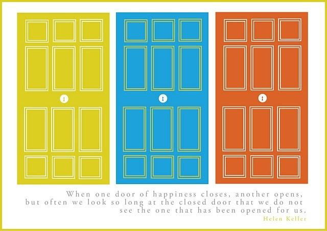 Helen KellerThe Doors, Open Doors, Helen Keller Quotes, Quotes Posters, Doors Quotes, Printables Quotes, Quotable Mondays, Nice Quotes, Free Printables