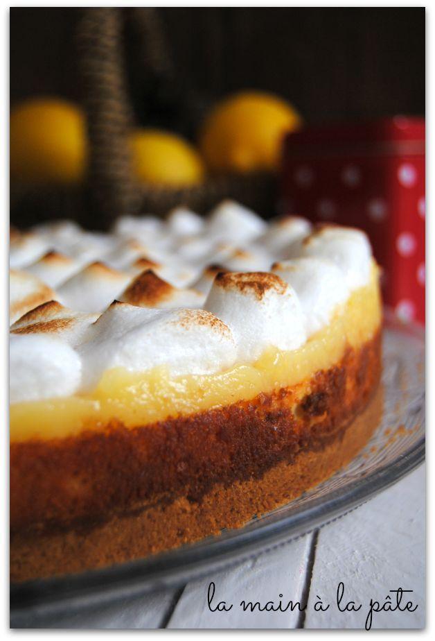 Cheesecake meringué au citron