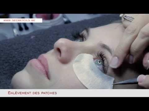 Secret Cils - Extensions de cils - Bruxelles - YouTube