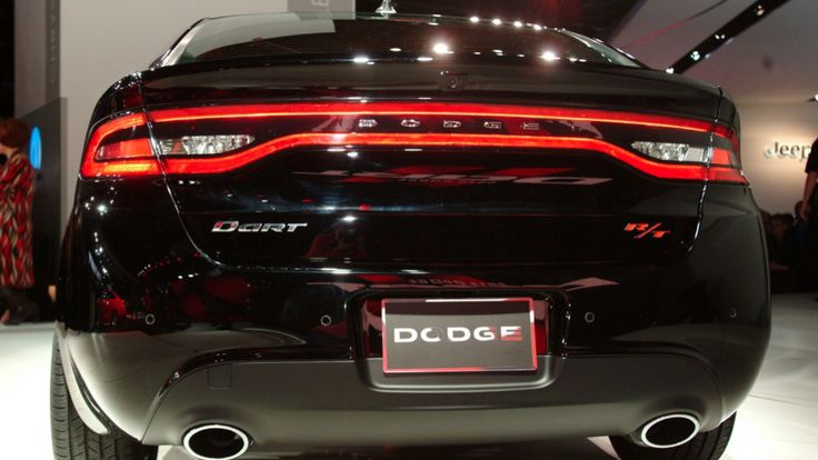 The New Dodge dart. Well be premiered at the auto show this month