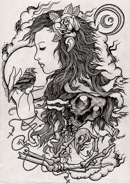 .: Tattoo Ideas, Pens Drawings, Awesome Tattoo, Girls Tattoo, Tattoo Design, Tattoo Art, Tattoo Illustrations, Tattoo 8531, Scott Moving