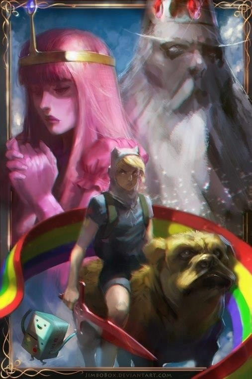 Adventure Time Painting