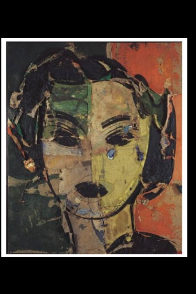 """Manolo Valdes - """"Matisse como pretexto"""", 2001 - Silk screen on linen canvas - 150 x 122 cm"""