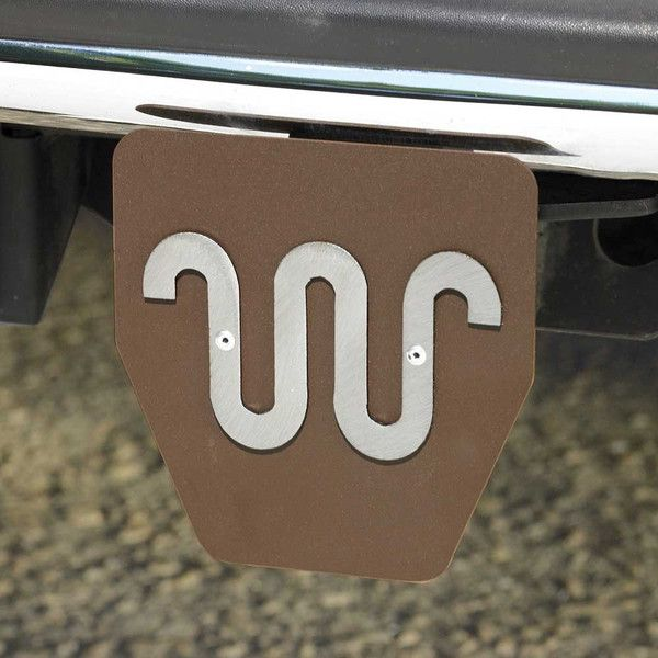 \Brand your King Ranch Ford F Series Truck or any vehicle you love to drive with our Running W' Hitch Plug! Rustic powder coated metal with a large, ...
