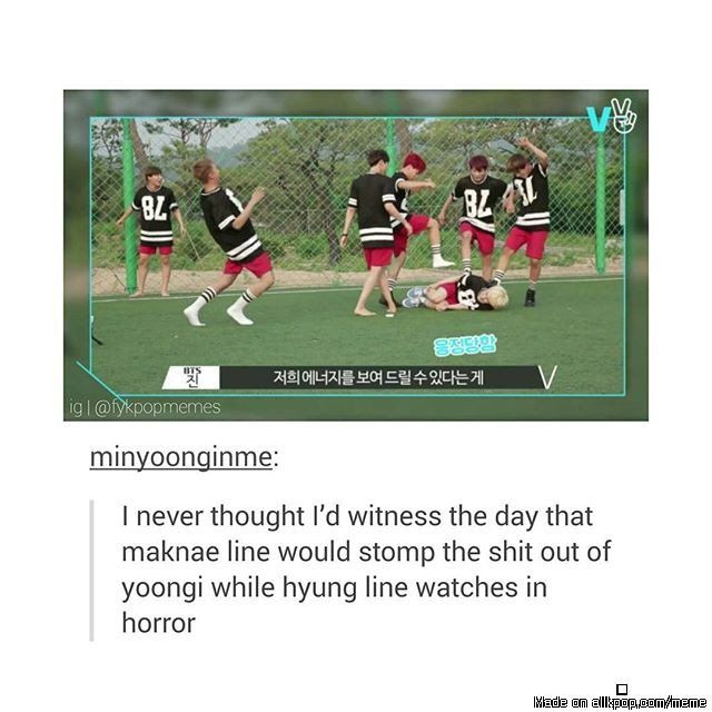 Soon Bangtan will only consist of 3 rappers and 1 vocal :( lol XD | Meme Center | allkpop