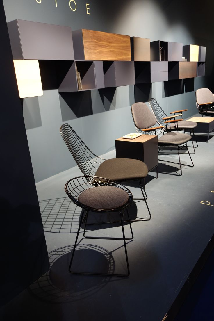 new chairs for Pastoe in co-operation with Tenue de Nimes