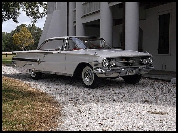 Wonderful 1960 Chevrolet Impala Hardtop AACA Senior Award Winner Mecum Sold Price:  $39,000 Kissimmee 2014,