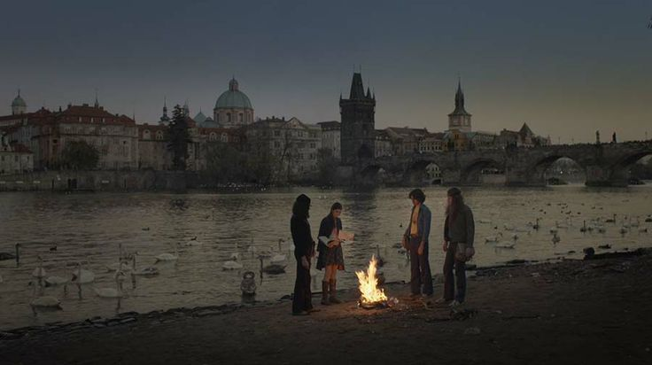 """Opening scene from the Czech television drama """"It's Only a Rock 'N' Roll"""".  http://taylor-film.com/its-rock-n-roll/  #vaclav havel #prague #prague director of photography #czech movie"""