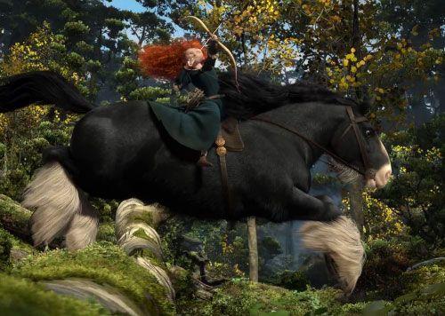 Angus looks so realistic brave disney princesas y pelis - Cheval de rebelle ...