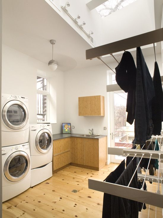Interesting Stemware Rack Laundry From Ikea Contemporary Laundry Room Drying Racks Slide Into The Wall