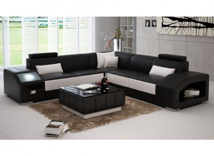 Envie Leather Lounge - This modern and bold lounge suite has adjustable  head rests, a