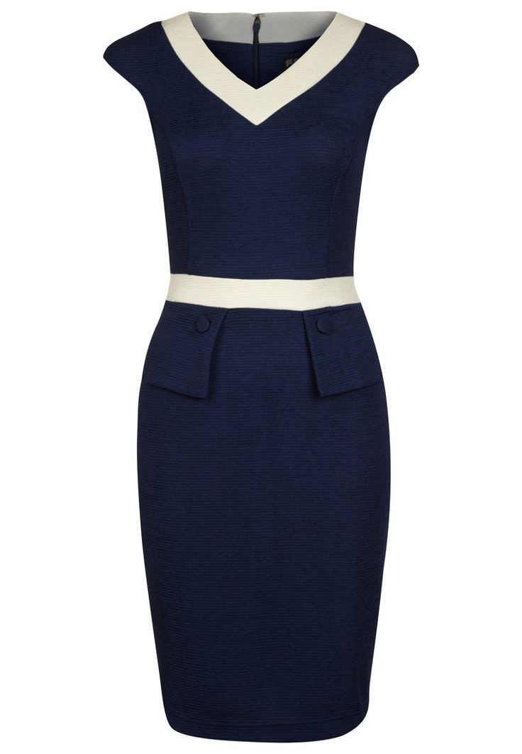 Fever London - LOMBARDIA - Zakelijke jurk - Blauw