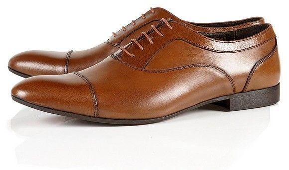 Chaussures en cuir marrron