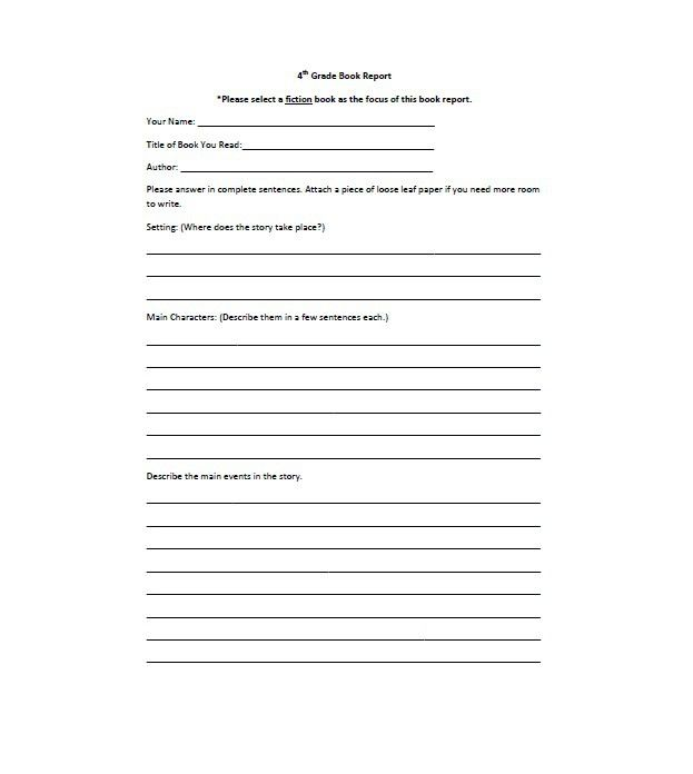 Best Homeschooling Images On   Book Report Templates