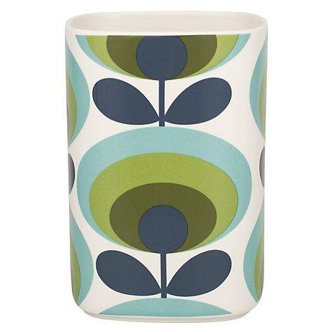 Buy Orla Kiely 70s Flower Utensil Pot Online at johnlewis.com