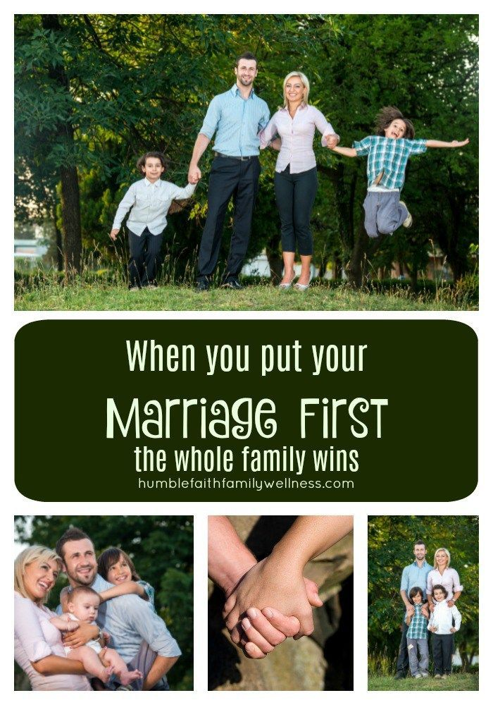 Prioritize your marriage for the whole family's sake!