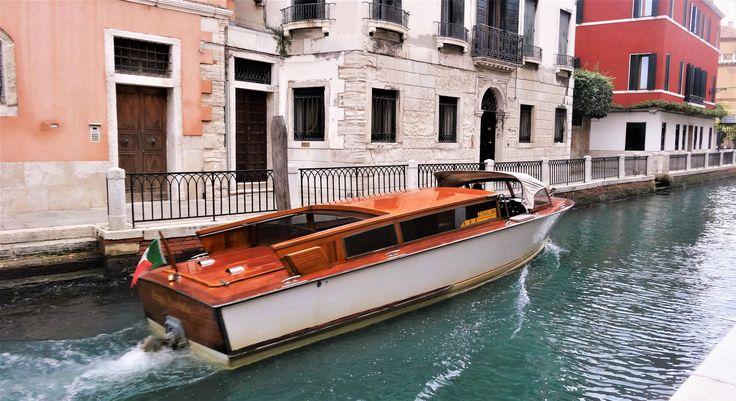 Vodní taxi Benátky