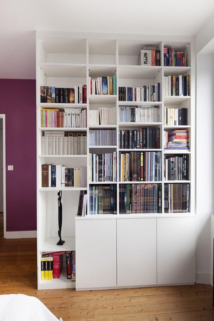 biblioth que sur mesure paris nantes lorient vannes la compagnie des ateliers diy. Black Bedroom Furniture Sets. Home Design Ideas