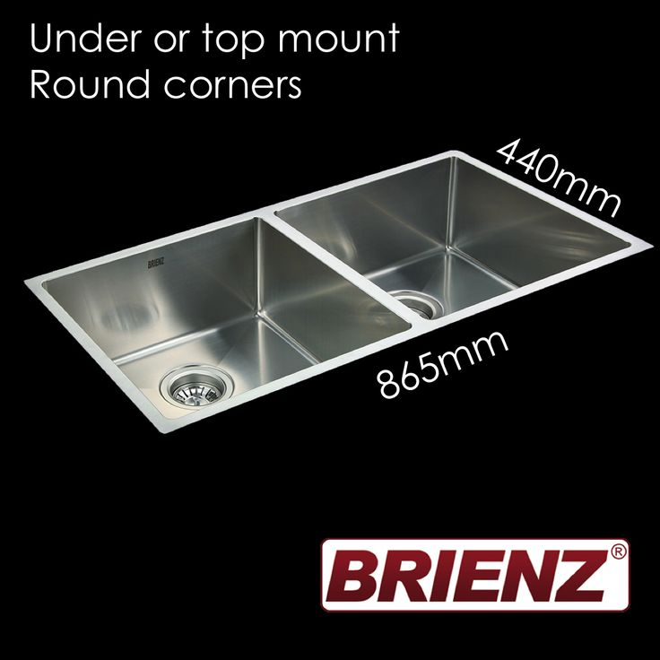 This high end hand-made 304 grade sanitary stainless steel kitchen sink from Brienz has a superior 1.2mm thickness and includes a Watermark waste so it is ready to install. It can be installed as an under-mount or top-mount sink (all fixtures provided). It is completely sound baffled to ensure noise is minimised, and undercoated to insulate the water temperature. If you want the best value high-end sink you have found it!This product can take up to 3 business days to despatch.