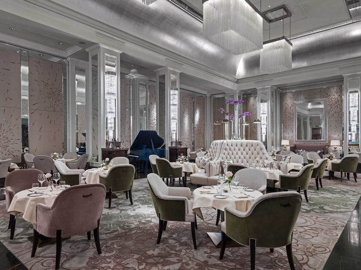 Palm Court has been transformed.  Serving tea to the cream of London since 1865…