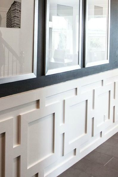 Best Chair Railing Ideas On Pinterest Two Tone Walls Dining