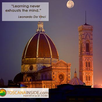 The power of learning in the opinion of #Leonardo Da Vinci... #quoteoftheday