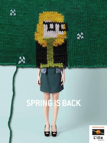 """Spring is back.""Advertising Agency: DDB, Barcelona, Spain"