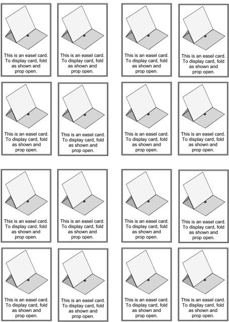 Best 20+ Easel Cards ideas on Pinterest | Folded cards, Acetate ...