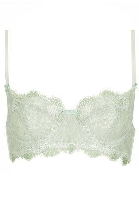 Double Eyelash Underwire Bra - Bras - Lingerie & Nightwear  - Clothing