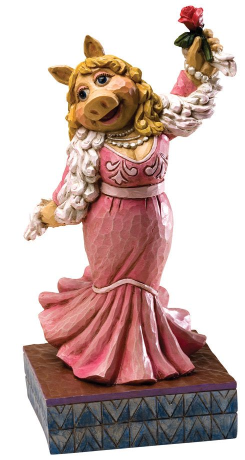 Disney Traditions Miss Piggy Muppets Jim Shore statue