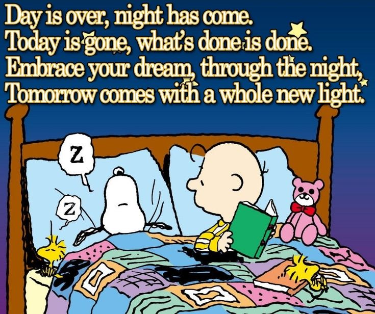 Good night my snoopy friends!! ❤️