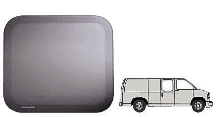 """CRL Fixed """"All Glass Look"""" 60% Window - Side Hinged Door 1997+ Chevy/GMC Vans 22-1/2"""" x 22-3/8"""""""