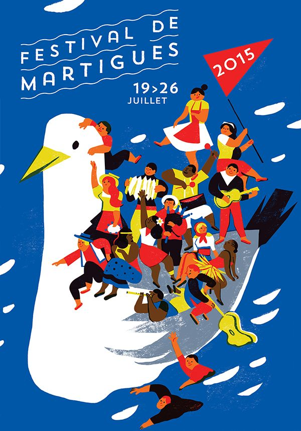 Poster for Festival on Behance