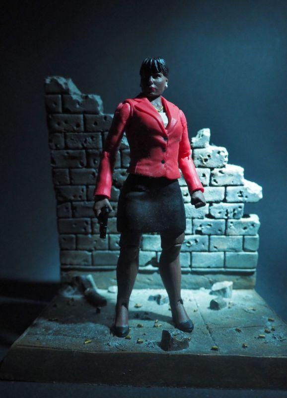 Amanda Waller (Justice League) Custom Action Figure