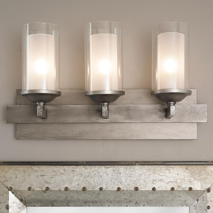 Iron Strip Vanity Light   3 Light