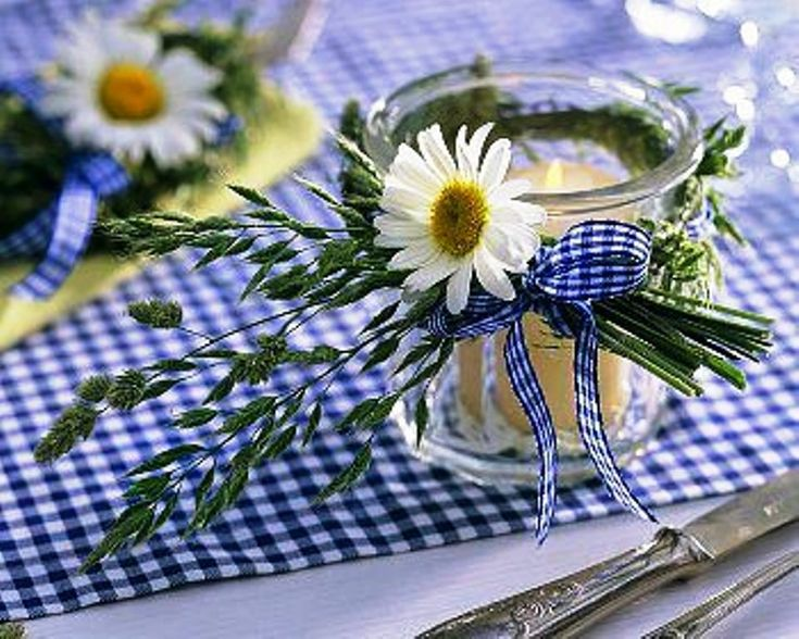 Lovely table decor 50ca1e86904f4aab8e0353c049f4f903  blue and white ideas para