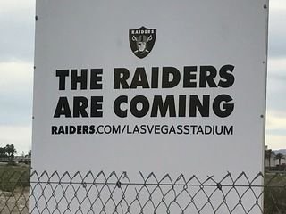 The new Raiders stadium continues to take baby steps toward breaking ground in Las Vegas.
