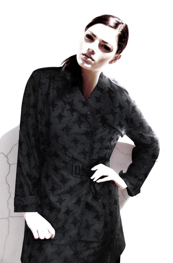 53a3ba1635ee6 FINAL SALE - DUSUD - cara trench coat TOWANDA womenswear - plus size  designer fashion boutique women s clothes shop.