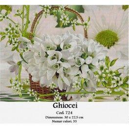 Set goblen - Ghiocei