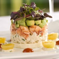 Wolfgang Puck's Crab Louie #recipe -- dairy-free, gluten-free, and high in fiber