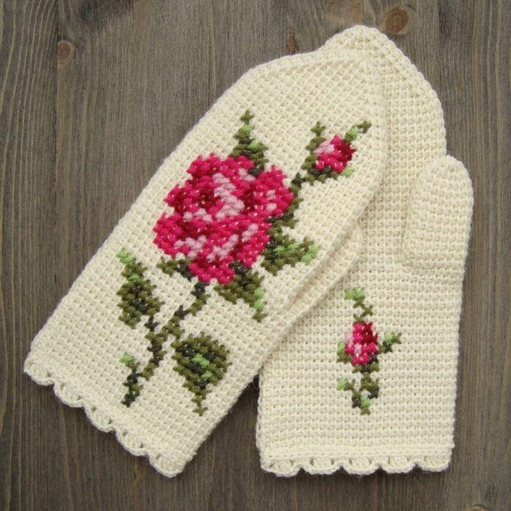 Mejores 52 imágenes de Tunisian crochet en Pinterest | Crochet ...